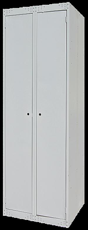Шкаф металлический 2-х створчатый для спецодежды ШР(600)