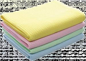 Полотенце вафельное 48х60 цветное
