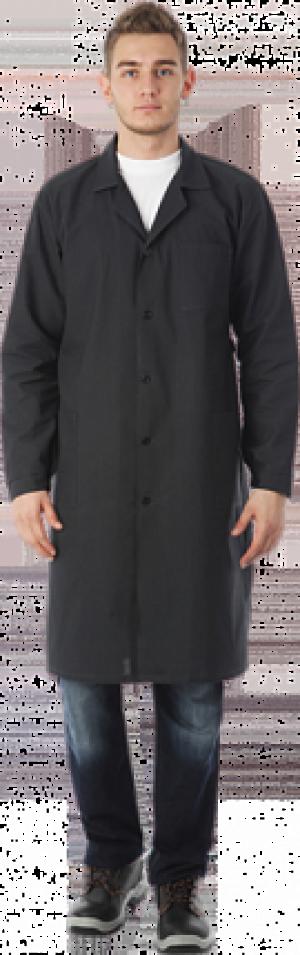 Халат рабочий БЯЗЬ чёрный