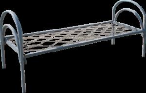 Кровать односпальная 1900*700 металлическая